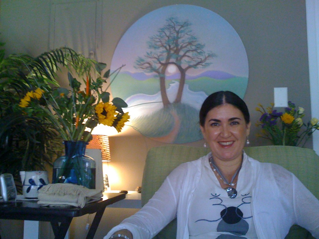 Mirabai during a Lightworker Training in Charleston